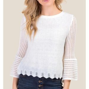 Sweaters - White pullover
